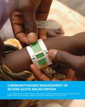 COMMUNITY-BASED MANAGEMENT OF SEVERE ACUTE MALNUTRITION