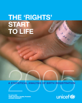 THE 'RIGHTS' START TO LIFE A STATISTICAL ANALYSIS OF BIRTH REGISTRATION